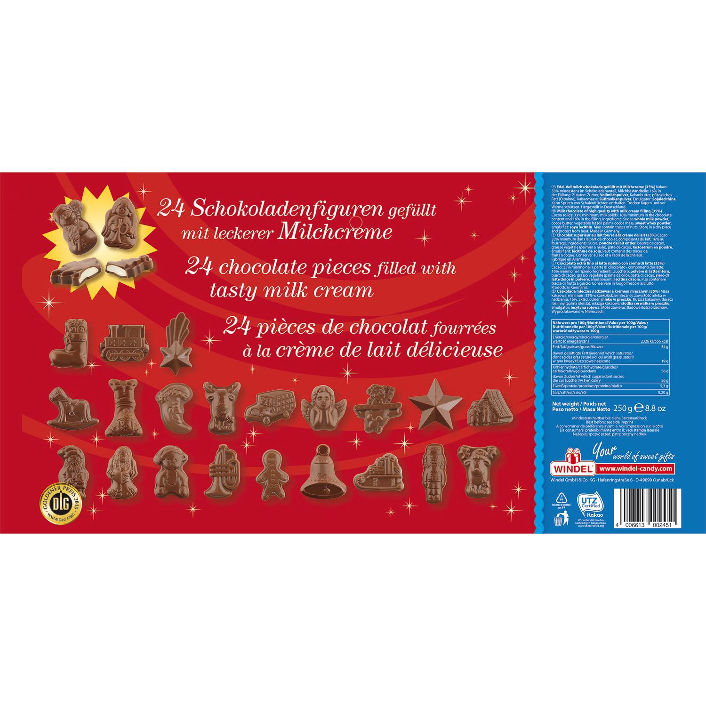 Windel Weihnachtskalender.Windel Milchcreme Adventskalender