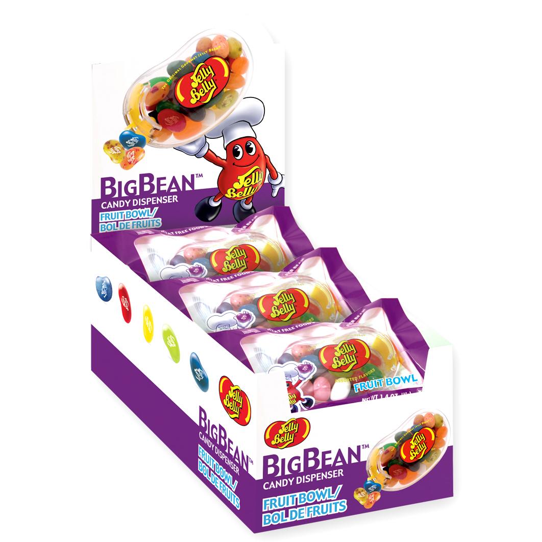 jelly belly bigbean fruit bowl spender online kaufen im world of sweets shop. Black Bedroom Furniture Sets. Home Design Ideas
