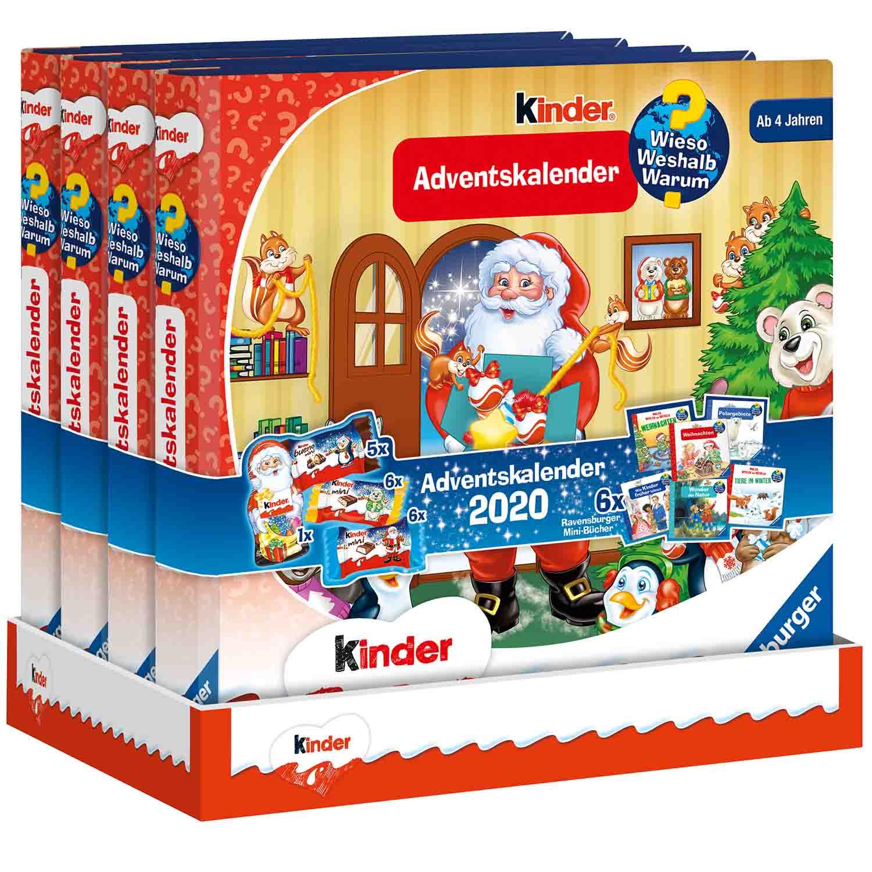 kinder Mix & Ravensburger Adventskalender 'Wieso? Weshalb ...