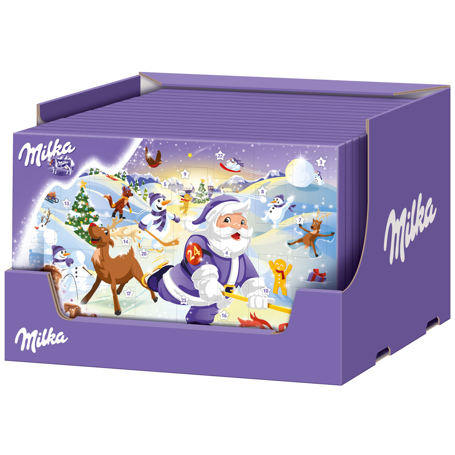 milka adventskalender online kaufen im world of sweets shop. Black Bedroom Furniture Sets. Home Design Ideas