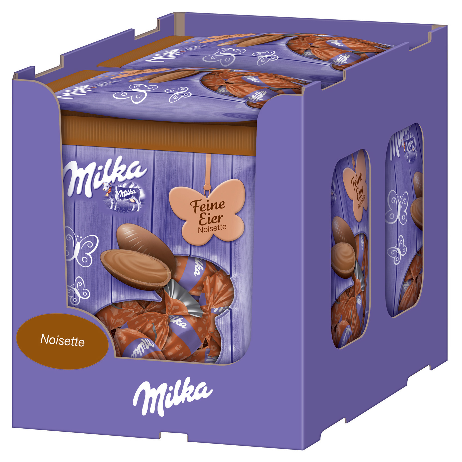 milka feine eier noisette online kaufen im world of sweets shop. Black Bedroom Furniture Sets. Home Design Ideas