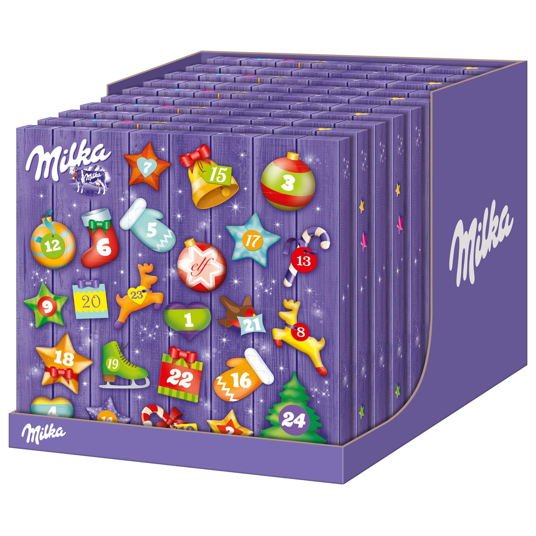milka mix adventskalender online kaufen im world of sweets shop. Black Bedroom Furniture Sets. Home Design Ideas