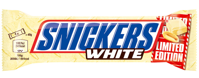 NEU: Snickers White