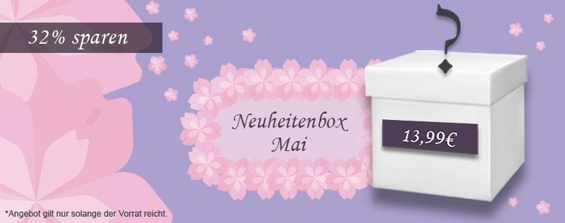 Neuheitenbox Mai