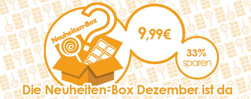 Neuheiten-Box Dezember| Jetzt 33% sparen