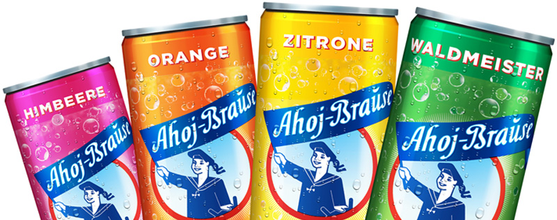 Ahoj-Brause in der Dose