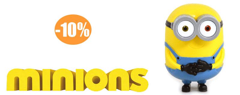 Minions 10% Rabatt