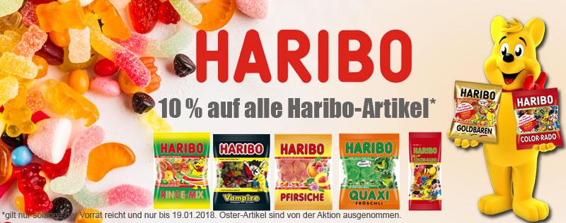 Haribo 10 % Rabatt
