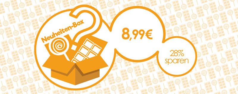 Neuheiten-Box August | Jetzt 28% sparen