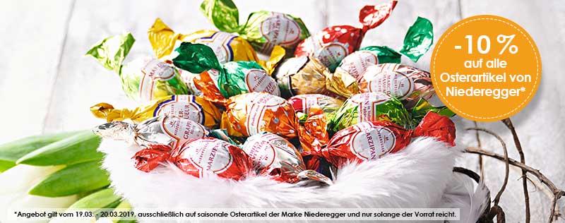 10% Niederegger Ostern