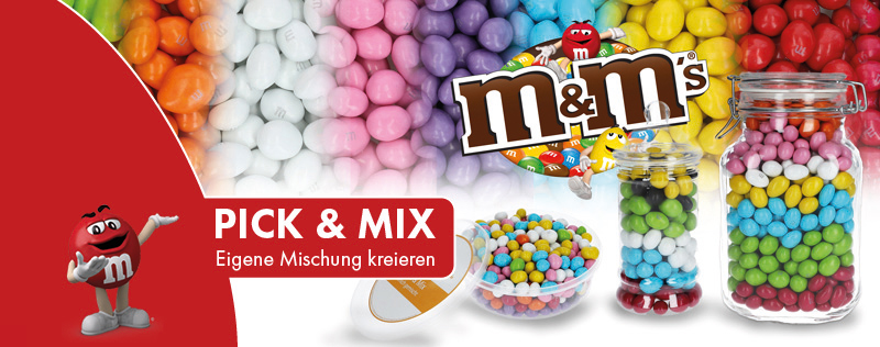 Pick & Mix | m&m's Mischung