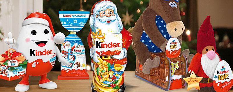 Weihnachten mit Kinder Schokolade