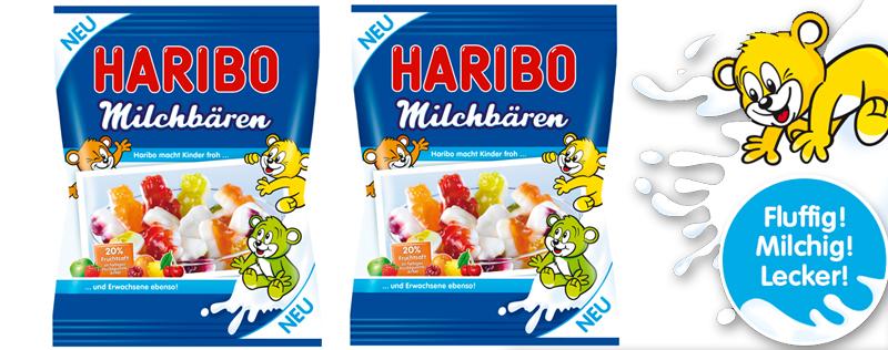 NEU: Haribo Milchbären