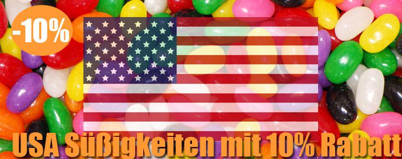 USA  Süßigkeiten mit|10% Rabatt