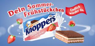 Knoppers Erdbeer Joghurt