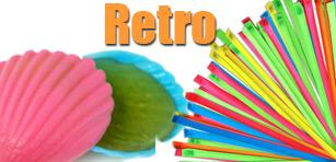 Retro Süßwaren